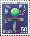 de Asia - Japón -  Scott#1385 Intercambio 0,20 usd  50 y. 1979