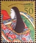 Stamps Japan -  Scott#3044 Intercambio 0,45 usd  50 y. 2008