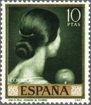Sellos del Mundo : Europa : España : ESPAÑA 1965 1666 Sello Nuevo Julio Romero de Torres Viva el Pelo