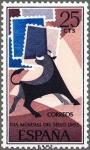 Stamps Spain -  ESPAÑA 1965 1667 Sello Nuevo Día Mundial del Sello Yv1322