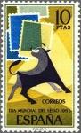Sellos de Europa - España -  ESPAÑA 1965 1669 Sello Nuevo Día Mundial del Sello Yv1324