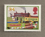 Stamps United Kingdom -  Navegación interior