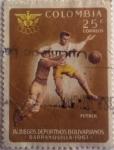 Stamps America - Colombia -  IV Juegos deportivos Bolivarianos, Barranquilla 1961