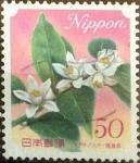 Sellos de Asia - Japón -  Scott#3208 Intercambio 0,50 usd  50 y. 2010