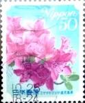 Sellos de Asia - Japón -  Scott#3309 Intercambio 0,50 usd  50 y. 2011