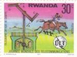 Stamps Rwanda -  Jornada Mundial de las Telecomunicaciones