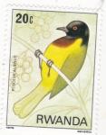 Sellos de Africa - Rwanda -    ave-