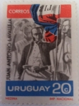 Sellos del Mundo : America : Uruguay : Juan Antonio Lavalleja
