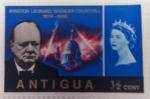 Sellos del Mundo : America : Antigua_y_Barbuda : Winston Leonard Spencer Churchill