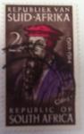 Stamps : Africa : South_Africa :  Juan Calvino