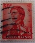 Sellos del Mundo : Asia : Hong_Kong : Reina Isabel