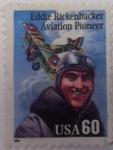 Sellos del Mundo : America : Estados_Unidos : Eddie Rickenbacker Aviation Pioneer