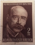 Stamps : Europe : Austria :  Alfred Cossmann