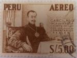 Stamps : America : Peru :  Garcilazo Inca de la Vega