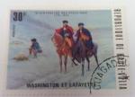Stamps : Africa : Burkina_Faso :  Washington et Lafayette