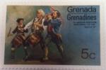Sellos del Mundo : America : Granada : Grenadines The American revolution Bicentennial