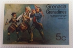 Stamps : America : Grenada :  Grenadines The American revolution Bicentennial