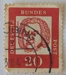 Stamps Germany -  Bach