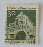 Stamps Germany -  Flensburg Schleswig