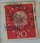 Stamps : Europe : Germany :  DEUTSCHE BUSNDES POST
