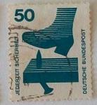 Stamps Germany -  DEUTSCHE BUSNDES POST