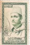 Sellos de Africa - Marruecos -  S.M.Mohamed, V
