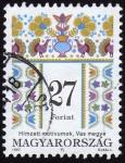 Stamps Hungary -  COL-BORDADO