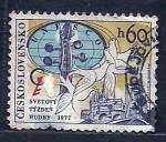 sellos de Europa - Checoslovaquia -  Svetovy Tyzden
