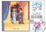 Stamps : Asia : United_Arab_Emirates :  AIDA- Verdi