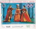 Stamps : Asia : Yemen :  G.F.Händel