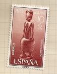 Stamps Spain -  Río Muni, Día del Sello 1961