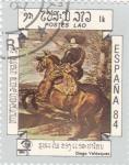Stamps Laos -  pintura- Diego Velázquez