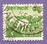 Sellos de Asia - India -  INTERCAMIBO
