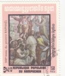 Stamps : Asia : Cambodia :  500 Aniversario de Raphael