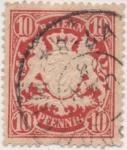 Sellos de Europa - Alemania -  Baviera Y & T Nº 41 [1]