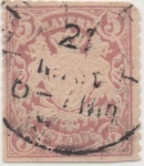 Sellos de Europa - Alemania -  Baviera Y & T Nº 49