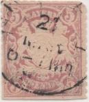 Stamps Germany -  Baviera Y & T Nº 49