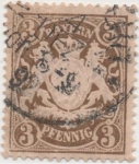 Stamps Germany -  Baviera Y & T Nº 60_1