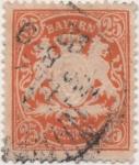 Stamps Germany -  Baviera Y & T Nº 66