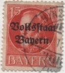 Sellos de Europa - Alemania -  Baviera Y & T Nº 120 [1]