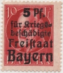 Stamps Germany -  Baviera Y & T Nº 171_1