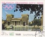 Stamps : Asia : Yemen :  OLIMPIADA DE MUNICH