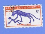 Stamps Africa - Benin -  TIMBRE  --TAXE
