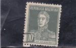 Sellos de America - Argentina -  Gral. José de San Martí