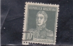 Stamps : America : Argentina :  Gral. José de San Martí