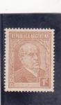 Stamps : America : Argentina :  Domingo F. Sarmiento