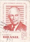 Sellos del Mundo : America : Brasil : Visita del presidente Eisenhower a Brasil