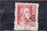 Stamps : America : Brazil :  D. Joao Vi