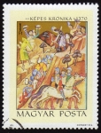 Stamps Hungary -  COL-KÉPES KRÓNIKA 1370