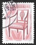 Sellos de Europa - Hungría -  3871 - Butaca del siglo XVIII